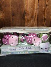 Summer - Infant Crib Mobile - Musical Lady Bug