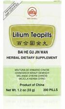 Min Shan, Bai He Gu Jin Wan, Lilium Teapills, 200 ct