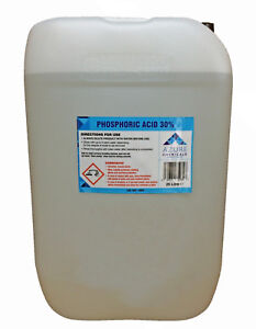 Azure Phosphoric Acid Descaler Rust Remover 30% Safe On Metal Surfaces - 25L