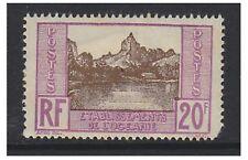 OCEANIC COLONIES - 1929,20f papetoix Bay (papier dos) TAMPON - Excellent état -