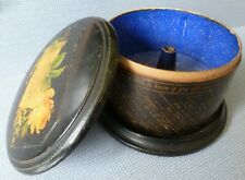 Victorian Mauchline Sewing Thread Box, Fortune Telling and Thread Games Box