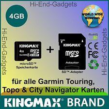 NEU MicroSD HC SD Karte - für alle Garmin Touring,  Topo & City Navigator Karten