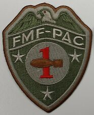 USMC Marine FMF-PAC 1st EOD (Explosive Ordnance Disposal)S Company Subdued Patch