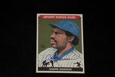 HOF ANDRE DAWSON 2008 SPORTKINGS SIGNED AUTOGRAPHED CARD #79 CUBS