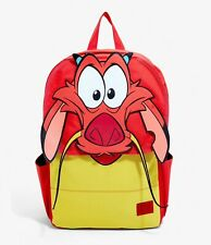Loungefly x Disney Mulan Mushu Face Backpack - Red