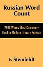 Russian Word Count: 2500 Words Most Commonly Used in Modern Literary Russian (Pa