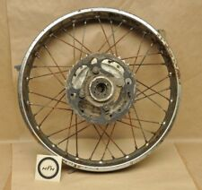 "Vtg Honda SL350 K1 K2 18"" Daido Rear Wheel Rim w/ Drive Sprocket A88"