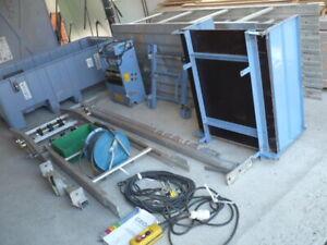 neu 250kg Geda 18m Fixlift Dachaufzug Dachdeckeraufzug Schrägaufzug Bauaufzug