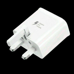 FAST CHARGER PLUG FOR SAMSUNG GALAXY S8+ S9+ S10+ S20+ Note 8 9 10