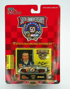 Racing Champions NASCAR 50th Anniversary #6 Valvoline Diecast Car New Free Ship