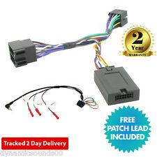 Adaptador de control del volante de tallo DS-PG006 para Peugeot 206 307 406 607 807