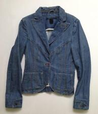 MARC JACOBS Denim Blazer Jacket SIZE 4 ~100% AUTHENTIC ~Orig $895 ~Neiman Marcus