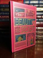 Beauty And The Beast Illustrated by Minalima Brand New Sealed Deluxe Cloth Bound
