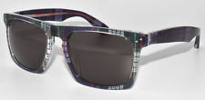 NEW SUNGLASSES MOSLEY TRIBES LYNDEL MT6013S 1121/87 MULTICOLOR / BROWN LENS -3