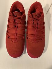 NWOB Nike Hyperdunk X Low Red Basketball Port Wine White #AT3867 602 Size 10