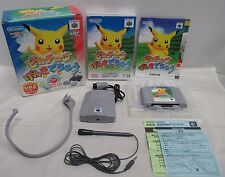 N64 -- Pikachu Genki de Chu -- Box. Can data save! Nintendo 64, JAPAN. 22860