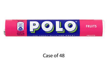 POLO FRUITS 37g FULL CASE OF 48 ROLLS SWEETS WHOLESALE 575460
