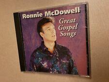 Great Gospel Songs by Ronnie McDowell (CD, Jan-1995, Curb)