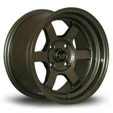 **MARKED** 1 x Rota Grid-V Alloy Wheel Bronze 16x8 Inch 4x100 ET20 67.1mm CB