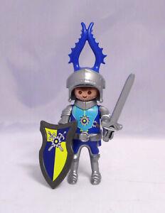 PLAYMOBIL Novelmore Figur Ritter Prinz mit Helm Schild Schwert neuwertig #20