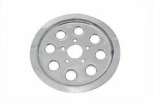 Rear Pulley Cover 61 Tooth Chrome for Harley Davidson by V-Twin