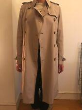 Women's Classic Burberry Trench Coat Rain Mac Sz UK 12
