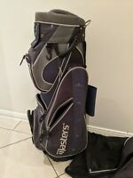 Masters Golf Bag - Cart Bag - 14 way - Rain Cover - Black -
