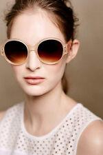 Nip Anthropologie Unusual Retro Round ett:twa Franang Sunglasses Shades