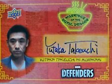 2018 Upper Deck The Defenders Yutaka Takeuchi As Murakami Autograph Auto