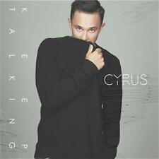 CYRUS Keep Talking SIGNED/AUTOGRAPHED (X-Factor) CD SINGLE NEW