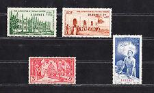 lot 4  timbres  poste aérienne  avant indépendance  Dahomey  neuf num: 6/9   **