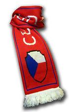 Official Czech Republic Ceska Republika soccer football knitted fan scarf ultras