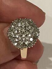 Prima Ballerina 14k Yellow Gold 1 carat Affinity Diamond Ring From QVC Size 7
