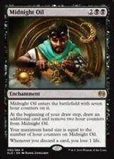 Magic the Gathering MTG 4x Midnight Oil - Kaladesh NM Rare