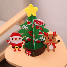 Hot Mini Table Top Snow Christmas Tree LED Decoration Home Xmas Decor CB