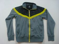 Nike Track Jacket Mens Size Small S Grey Gray Sportswear Full Zip