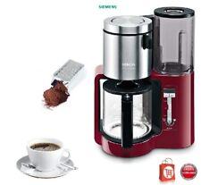 SIEMENS Kaffeemaschine mit Sensor-Technik TC 86304 Glaskanne Kaffeeautomat