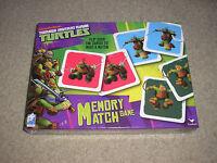 New Sealed Nickelodeon Teenage Mutant Ninja Turtles Memory Match Game Cardinal
