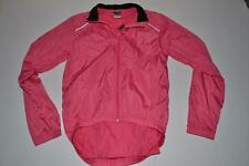 CANARI CYCLING OUTDOORS PINK WIND RAIN LIGHT JACKET WOMENS SIZE SMALL S