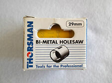 BI - METAL HOLESAW 29MM BY THORSMAN - TOP QUALITY AND PROFESSIONAL