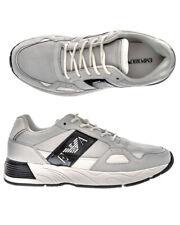 Emporio Armani Shoes Sneaker Leather Man White X4X220XL188 A222 Sz.43 MAKE OFFER