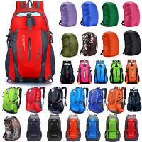 Outdoor Travel Camping Hiking Backpack Bags Rucksack Rain Dust Cover Waterproof