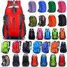 Large Men Women Travel Outdoor Hiking Backpack Rucksack Luggage Waterproof Bags