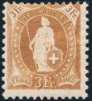 SCHWEIZ 1906, MiNr. 80 C, sauber ungebraucht, Mi. 300,-
