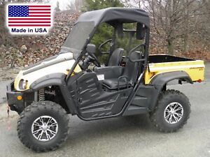 Cub Cadet Challenger 500 700 - HARD WINDSHIELD and ROOF COMBO - Soft Top