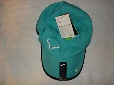 NWT Nike Nadal Dri-FIT Rafa Bull Feather Light Tennis Hat Cap 398224-363 RARE