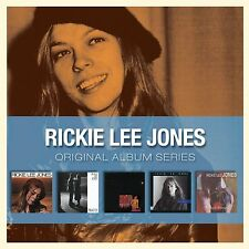 Rickie Lee Jones ORIGINAL ALBUM SERIES Pirates NAKED SONGS: LIVE New Sealed 5 CD