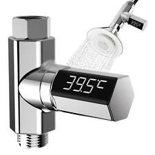 LED Digital Shower Temperature Display Water Thermometer Monitor Waterproof New