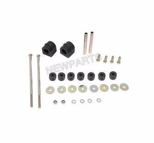 For Mercedes 220 220D W115 FEBI Sway Bar Bushing Kit Front 115 320 00 47