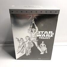 Original Star Wars Trilogy (DVD, 2004, 4-Disc Set, Widescreen Edition) NEW